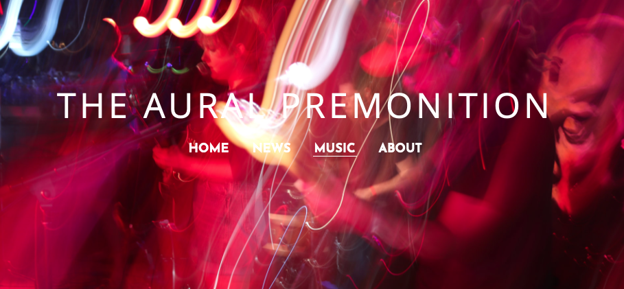 Exclusive Feature on The Aural Premonition Blog