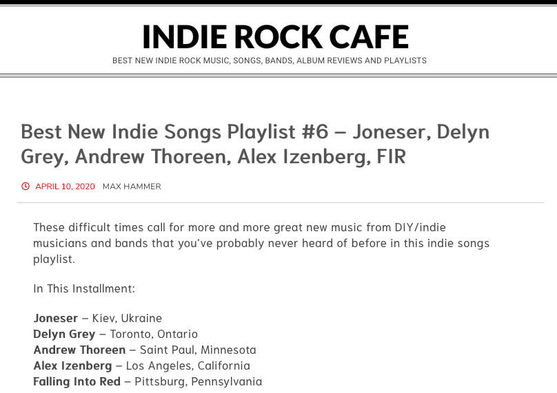 Indie Rock Cafe Photo